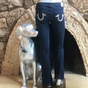 True Religion Bootcut Bling Jeans